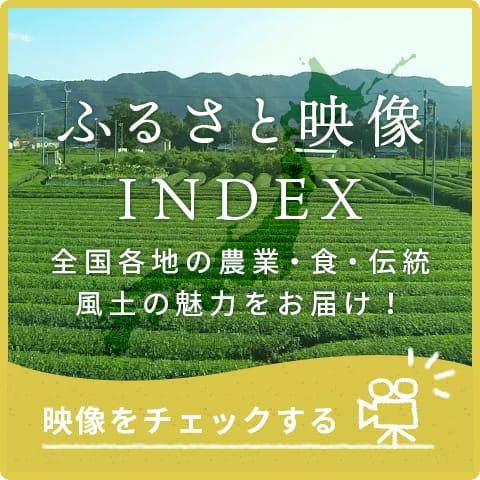 ふるさと映像INDEX 全国各地の農業・自然を映像でお届け!