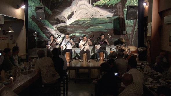 06.津軽三味線の継承者、ライブハウスでの演奏