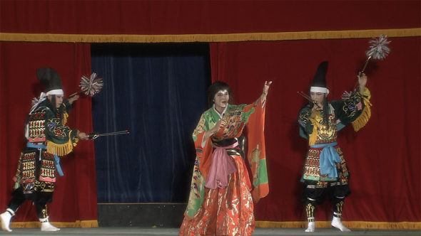 02.貴重な大衆娯楽、中国山地の安芸高田神楽