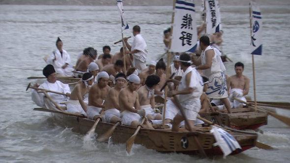 05.熊野速玉大社、秋の例大祭。あらぎ島の稲刈り。二川歌舞伎芝居
