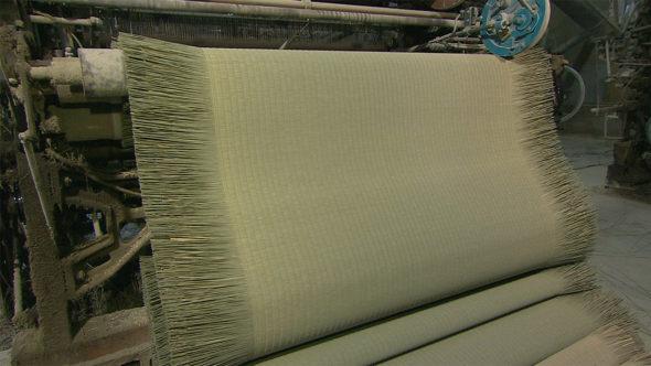 07.製織を経て畳表に。イグサの新たな可能性