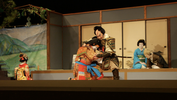 05.蕎麦の収穫と伝統の地芝居、下條歌舞伎本番