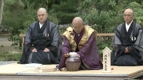 03.聖福寺の献上茶壺式典とお茶結びプロジェクト