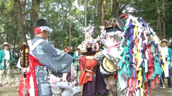 03.唐子神社の夏祭りと東松山市の獅子舞