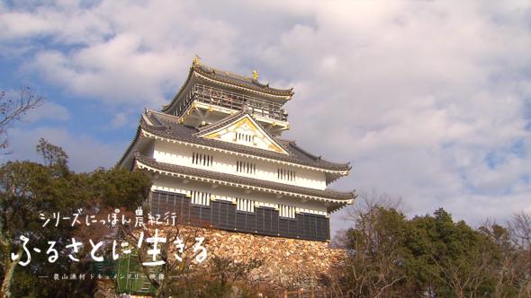 山の頂に天守を構える岐阜城